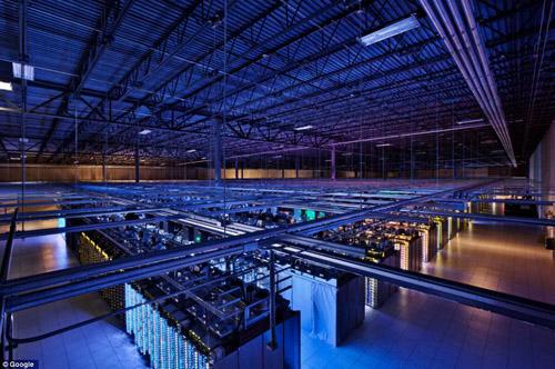 Khám phá trung tâm dữ liệu khổng lồ của Google