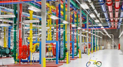 Xem trung tâm dữ liệu khổng lồ của Google