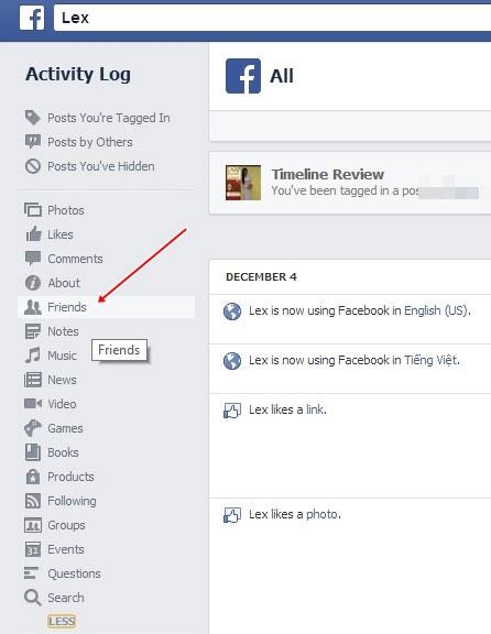 Giấu danh sách bạn bè của bạn với mọi người trên Facebook